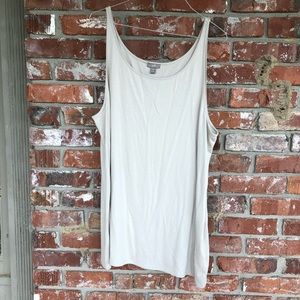 J Jill taupe colored tank top size XL